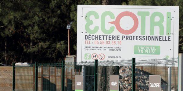 Ecotri - Déchetteries pour les artisans, commerçants et entreprises