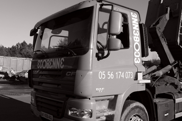 Ecobenne - Ecopool - Groupe spécialisé dans le transport et le recyclage des déchets, location de bennes à Bordeaux en Gironde